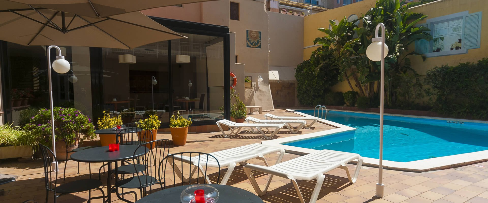 Spaces created for your comfort Hotel Lauria Tarragona