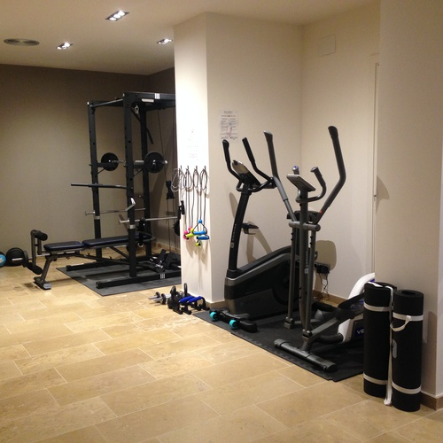 Fitness center lauria hotel tarragona